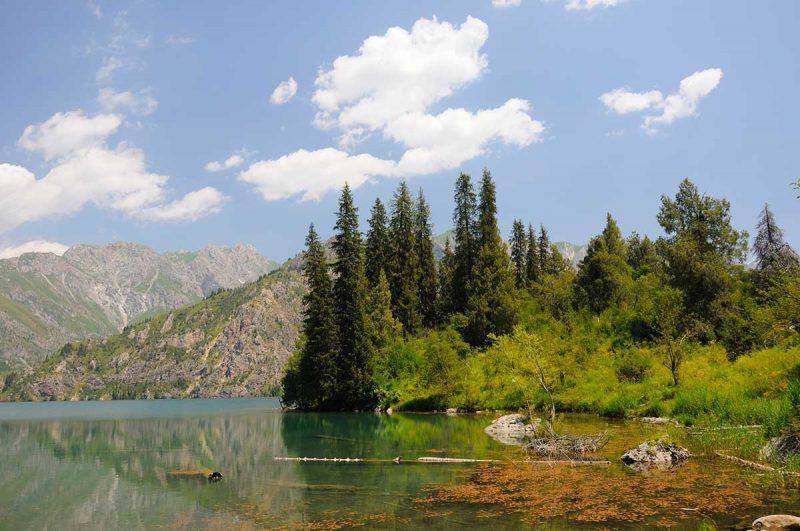 Lac Sari Chelek, Kirghisistan